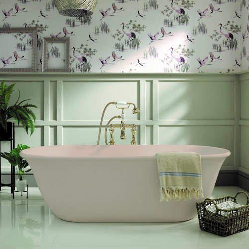 BC Designs Omnia ColourKast Bath 1615mm (Light Fawn).