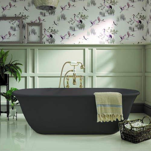 BC Designs Omnia ColourKast Bath 1615mm (Gunmetal).
