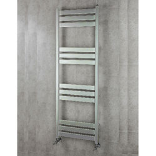 COLOUR Heated Towel Rail & Wall Brackets 1500x500 (Chrome).