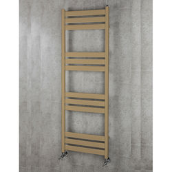 COLOUR Heated Towel Rail & Wall Brackets 1500x500 (Grey Beige).