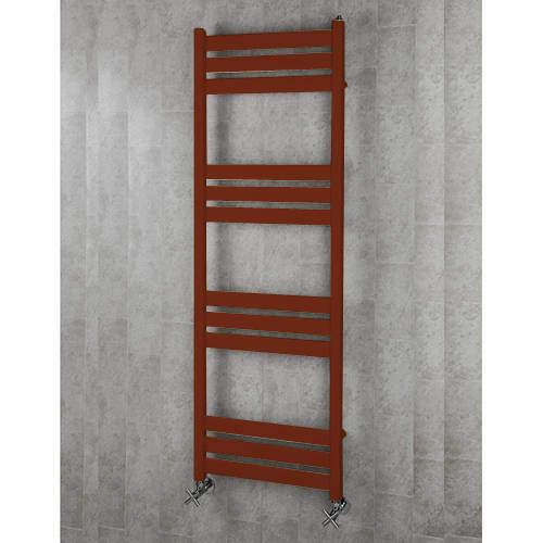COLOUR Heated Towel Rail & Wall Brackets 1500x500 (Purple Red).