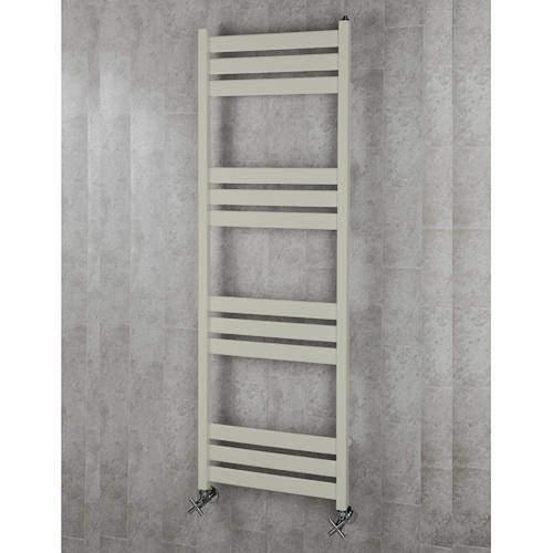 COLOUR Heated Towel Rail & Wall Brackets 1500x500 (Silk Grey).