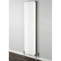 COLOUR Chaucer Double Vertical Radiator 1820x504mm (White).