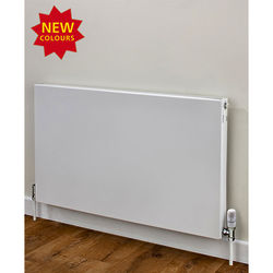 COLOUR Faraday Type 11 Radiator 400x600mm (K1, White, 1297 BTUs).