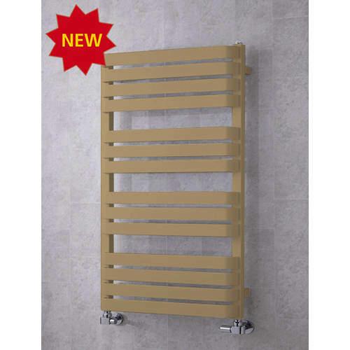 COLOUR Heated Towel Rail & Wall Brackets 1110x500 (Grey Beige).