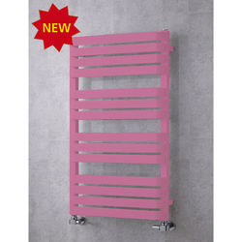 COLOUR Heated Towel Rail & Wall Brackets 1110x500 (Heather Violet).