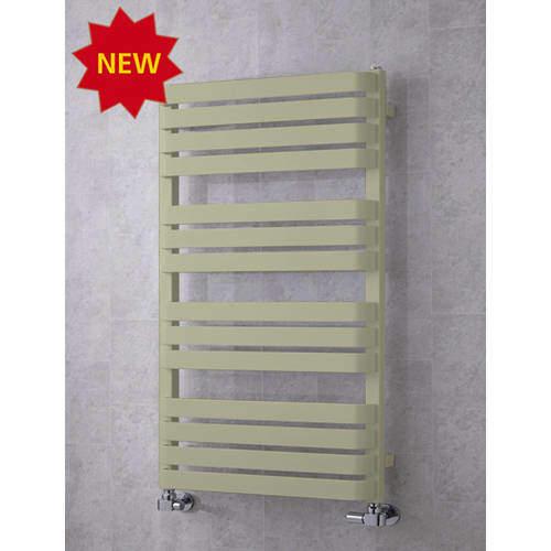 COLOUR Heated Towel Rail & Wall Brackets 1110x500 (Pebble Grey).