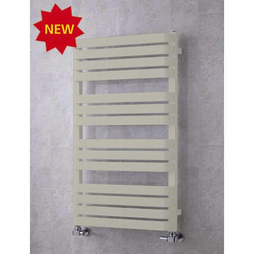 COLOUR Heated Towel Rail & Wall Brackets 1110x500 (Silk Grey).