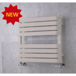 COLOUR Heated Towel Rail & Wall Brackets 655x500 (Light Grey).