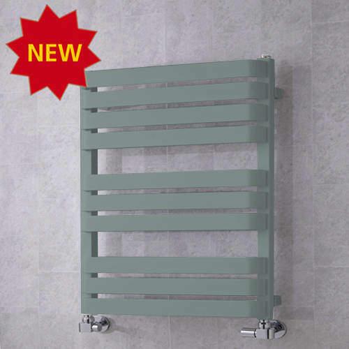 COLOUR Heated Towel Rail & Wall Brackets 785x500 (Traffic Grey A).