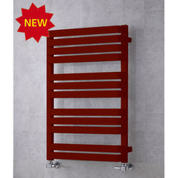 COLOUR Heated Towel Rail & Wall Brackets 915x500 (Purple Red).