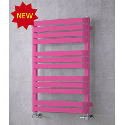 COLOUR Heated Towel Rail & Wall Brackets 915x500 (Heather Violet).