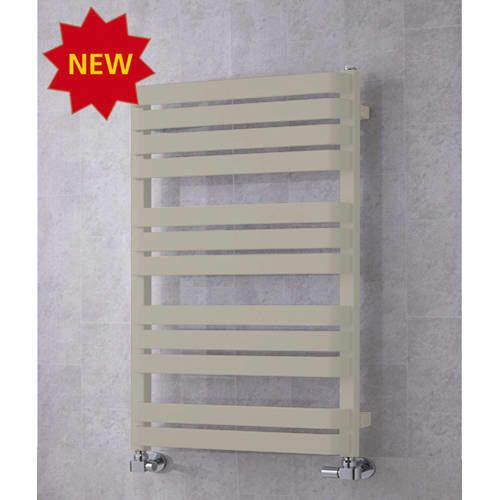 COLOUR Heated Towel Rail & Wall Brackets 915x500 (Pebble Grey).