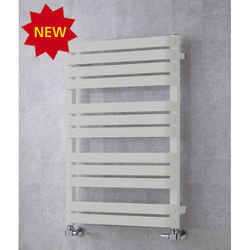 COLOUR Heated Towel Rail & Wall Brackets 915x500 (Light Grey).