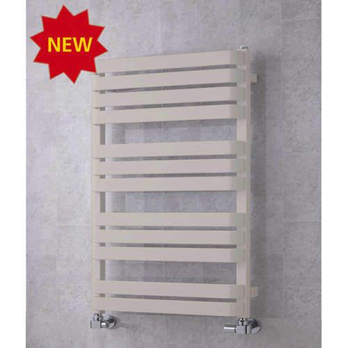 COLOUR Heated Towel Rail & Wall Brackets 915x500 (Silk Grey).