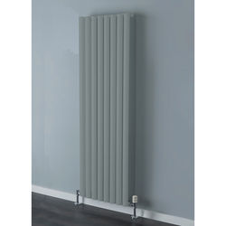 COLOUR Tallis Single Vertical Radiator 1820x300mm (Traffic Grey).