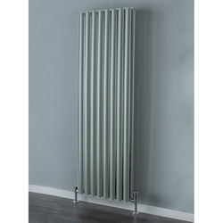 COLOUR Tallis Double Vertical Radiator 1820x600mm (Traffic Grey).