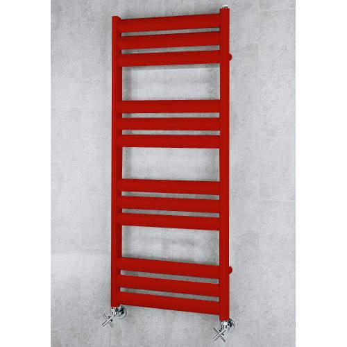 COLOUR Heated Ladder Rail & Wall Brackets 1060x500 (Ruby Red).