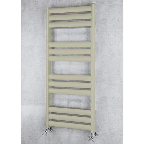 COLOUR Heated Ladder Rail & Wall Brackets 1060x500 (Pebble Grey).