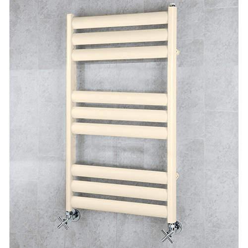 COLOUR Heated Ladder Rail & Wall Brackets 780x500 (Oyster White).