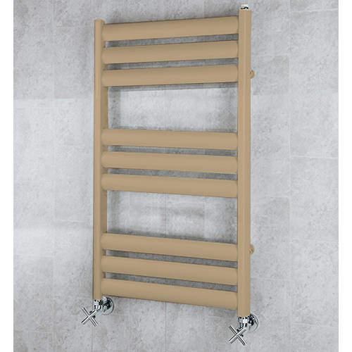 COLOUR Heated Ladder Rail & Wall Brackets 780x500 (Grey Beige).