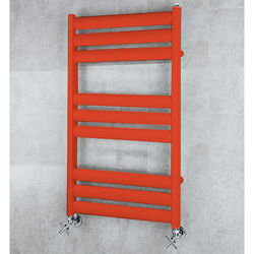 COLOUR Heated Ladder Rail & Wall Brackets 780x500 (Flame Red).
