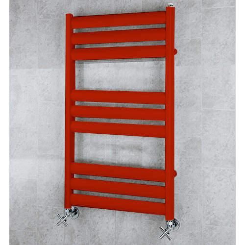 COLOUR Heated Ladder Rail & Wall Brackets 780x500 (Ruby Red).