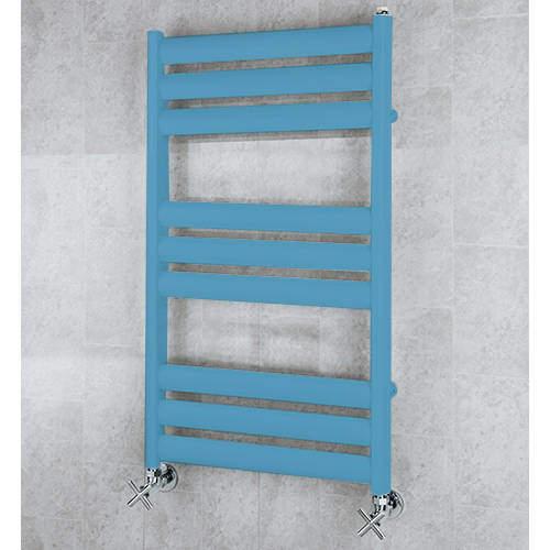 COLOUR Heated Ladder Rail & Wall Brackets 780x500 (Pastel Blue).