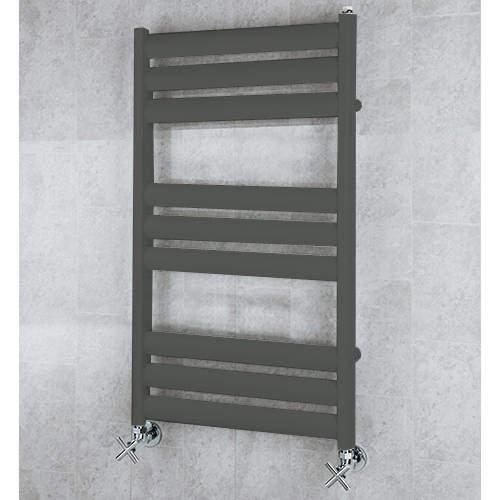 COLOUR Heated Ladder Rail & Wall Brackets 780x500 (Grey Olive).