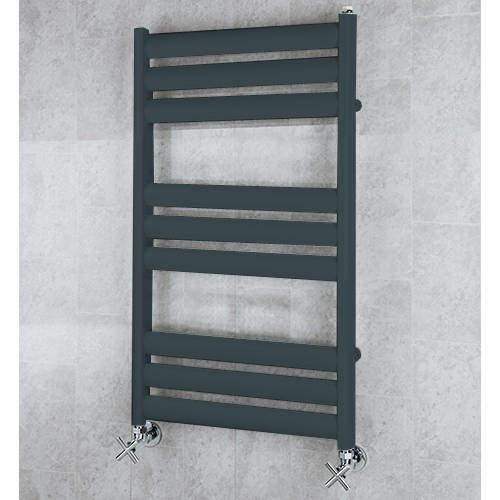 COLOUR Heated Ladder Rail & Wall Brackets 780x500 (Anthracite Grey).
