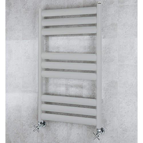 COLOUR Heated Ladder Rail & Wall Brackets 780x500 (Light Grey).