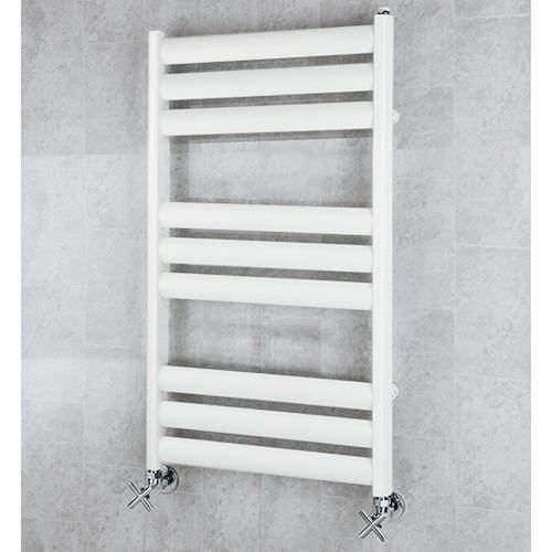 COLOUR Heated Ladder Rail & Wall Brackets 780x500 (Pure White).