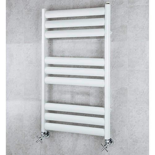 COLOUR Heated Ladder Rail & Wall Brackets 780x500 (White).
