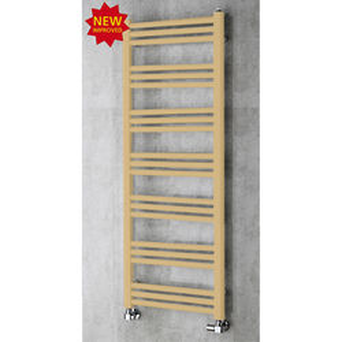 COLOUR Heated Ladder Rail & Wall Brackets 1374x500 (Beige).