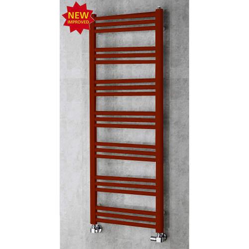 COLOUR Heated Ladder Rail & Wall Brackets 1374x500 (Purple Red).