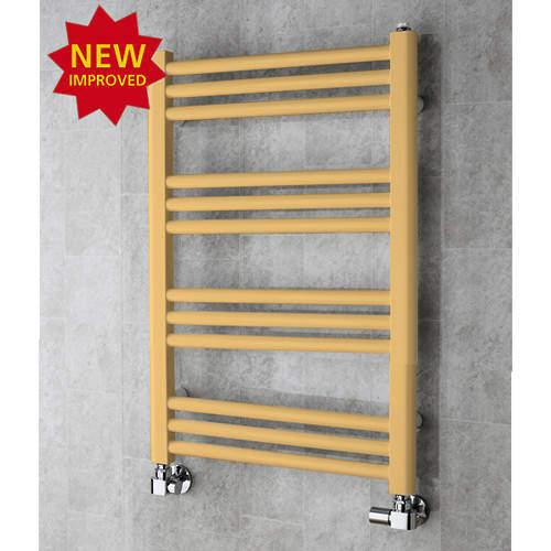 COLOUR Heated Ladder Rail & Wall Brackets 759x500 (Beige).