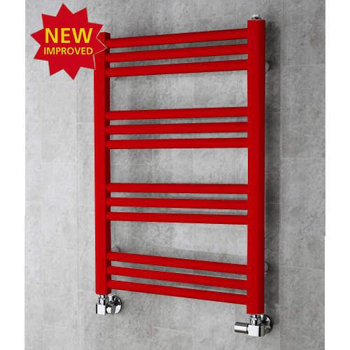 COLOUR Heated Ladder Rail & Wall Brackets 759x500 (Flame Red).