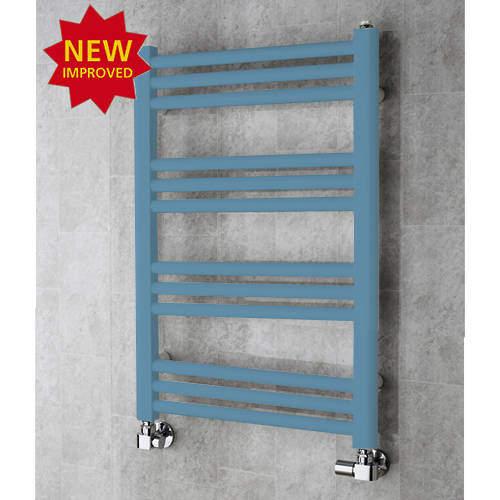 COLOUR Heated Ladder Rail & Wall Brackets 759x500 (Pastel Blue).