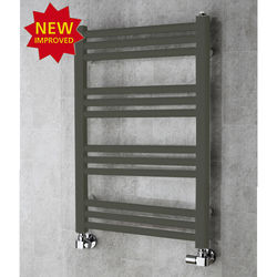 COLOUR Heated Ladder Rail & Wall Brackets 759x500 (Grey Olive).