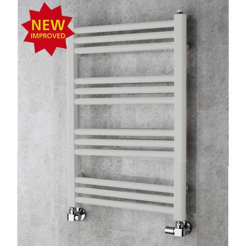 COLOUR Heated Ladder Rail & Wall Brackets 759x500 (Light Grey).
