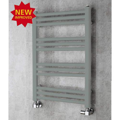 COLOUR Heated Ladder Rail & Wall Brackets 759x500 (Traffic Grey A).