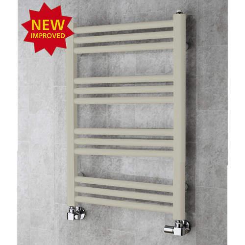COLOUR Heated Ladder Rail & Wall Brackets 759x500 (Silk Grey).