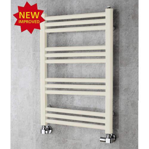 COLOUR Heated Ladder Rail & Wall Brackets 759x500 (Cream).