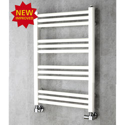 COLOUR Heated Ladder Rail & Wall Brackets 759x500 (Pure White).
