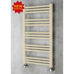 COLOUR Heated Ladder Rail & Wall Brackets 964x500 (Light Ivory).