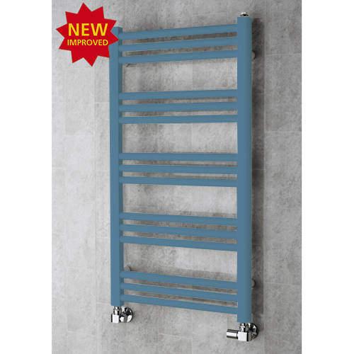 COLOUR Heated Ladder Rail & Wall Brackets 964x500 (Pastel Blue).