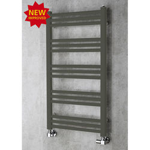 COLOUR Heated Ladder Rail & Wall Brackets 964x500 (Grey Olive).