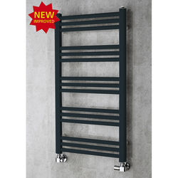 COLOUR Heated Ladder Rail & Wall Brackets 964x500 (Anthracite Grey).