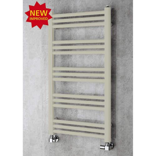 COLOUR Heated Ladder Rail & Wall Brackets 964x500 (Silk Grey).