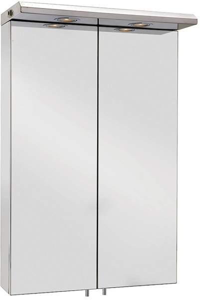 Croydex Cabinets Mirror Bathroom Cabinet With Lights. 500x770x230mm.